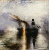 Joseph Mallord William Turner, Peace - Burial at Sea, Exhibited 1842, © Tate: Accepted by the nation as part of the Turner Bequest 1856. Foto © Tate, London 2018